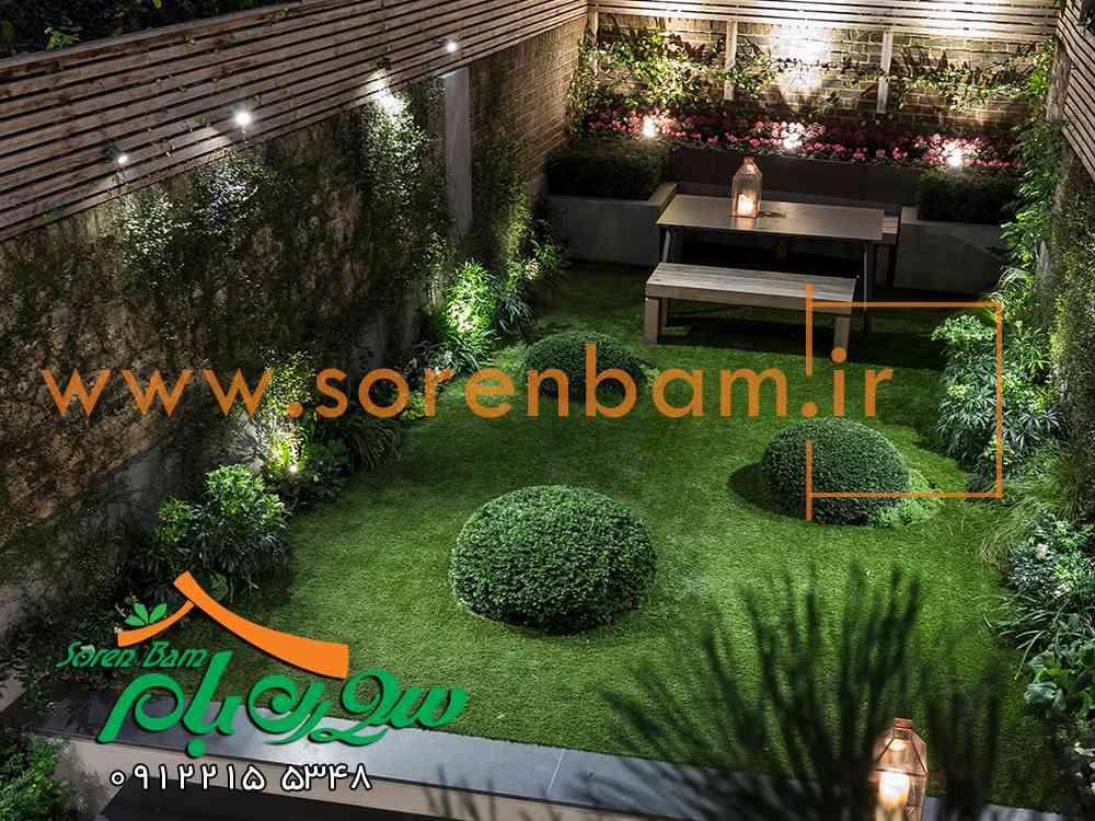 ایده های زیبای فضای سبز