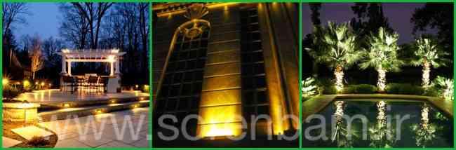 طراحی و اجرای محوطه سازی فضای سبز سورن بام