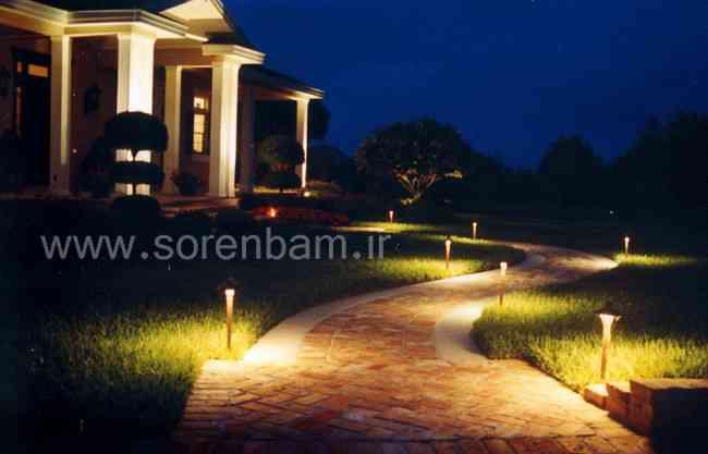 تجهیزات نورپردازی فضای سبز