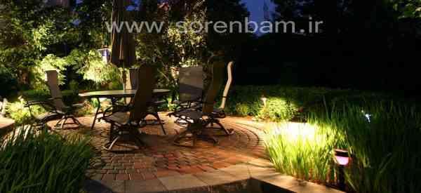 طراحی و اجرای نورپردازی ، شرکت سورن بام