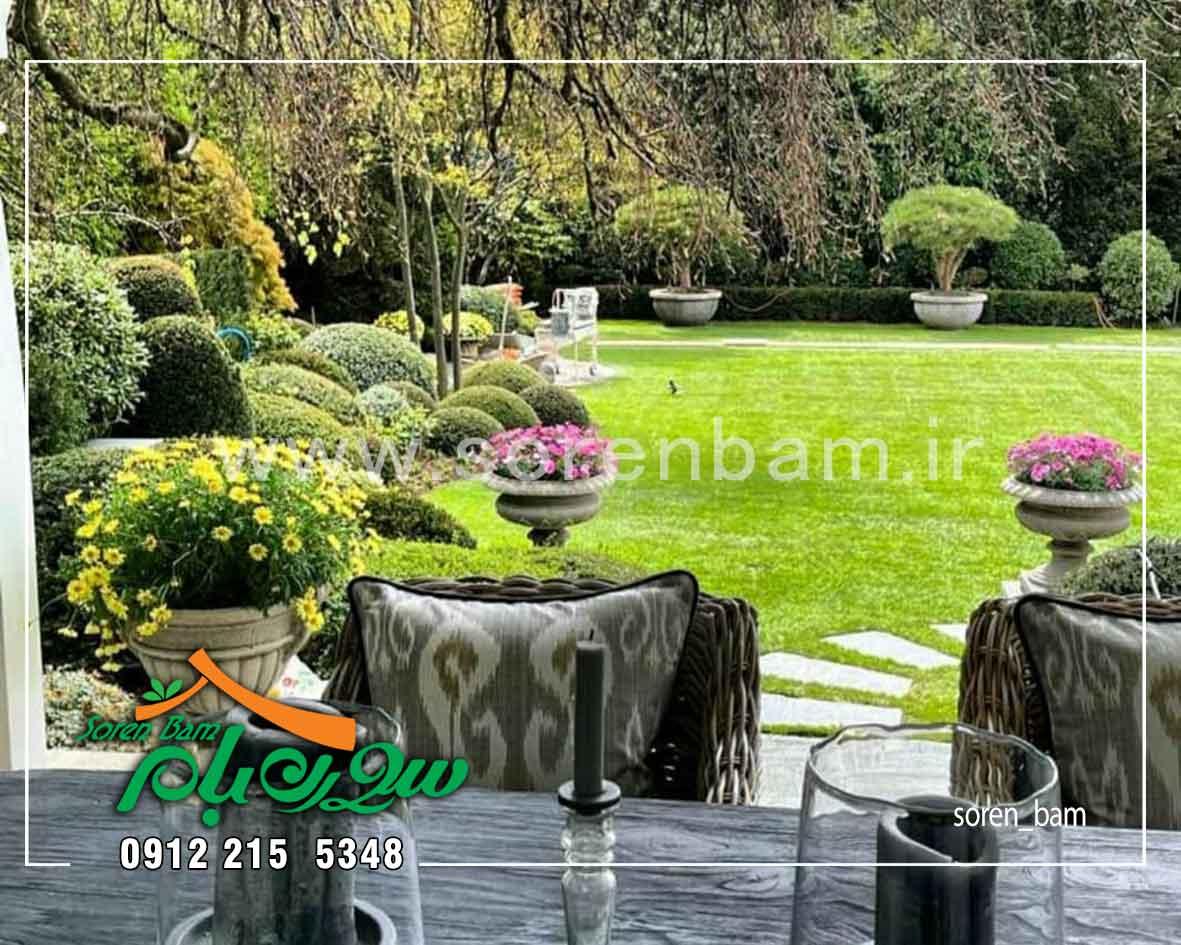 طراحی فضای سبز ویلا و باغ