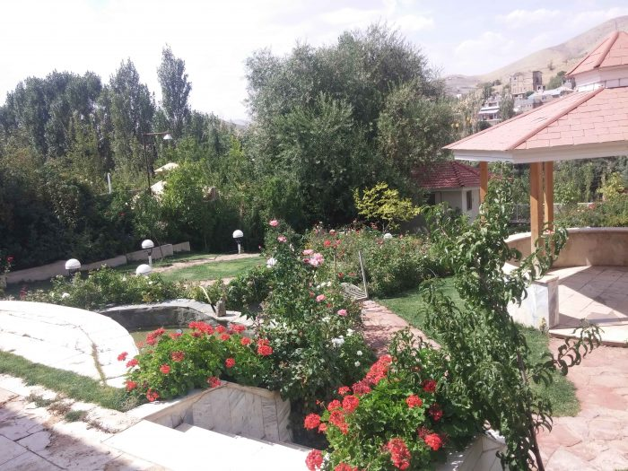 محوطه سازی و باغ سازی