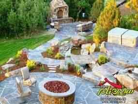 سنگ های تزیینی برای باغچه