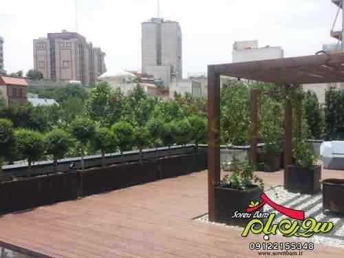روف گاردن| فضای سبز| باغ بام