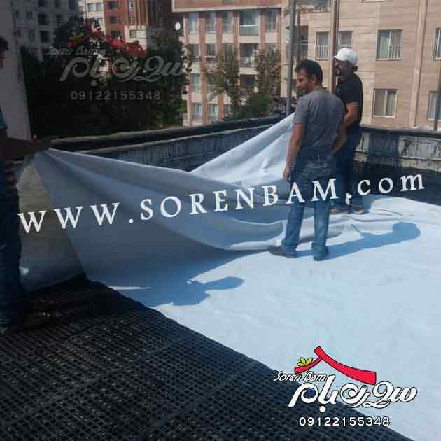 جزئیات اجرایی بام سبز|محوطه سازی روی بام |roofgarden