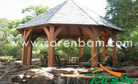 آلاچیق چوبی سنتی