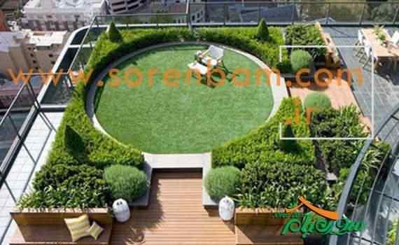 بام سبز یا باغ پشت بام