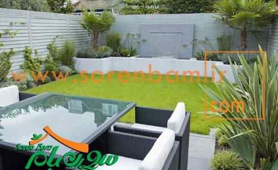 بام سبزدر معماری