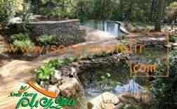 محوطه سازی باغ ، شرکت سورن بام