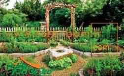 محوطه سازی ، محوطه سازی باغچه