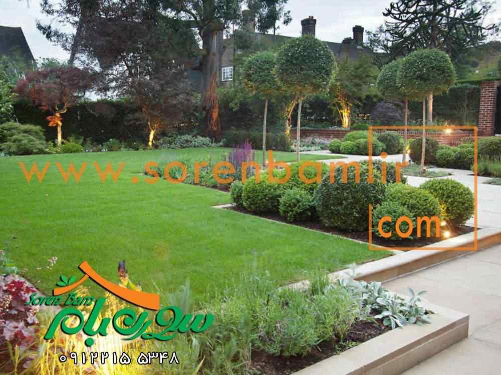 محوطه سازی باغ شهری