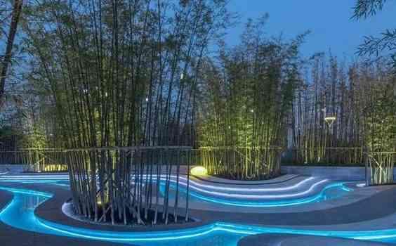 نورپردازی و طراحی فضای سبز