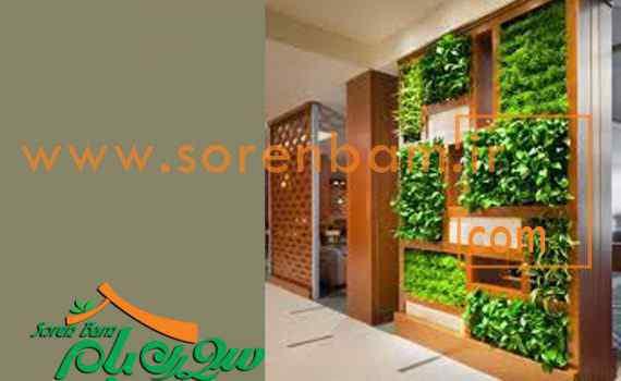 دیوار سبز مصنوعی سورن بام