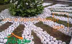 سنگ تزئینی قلوه ای یا سنگ رود خانه ای