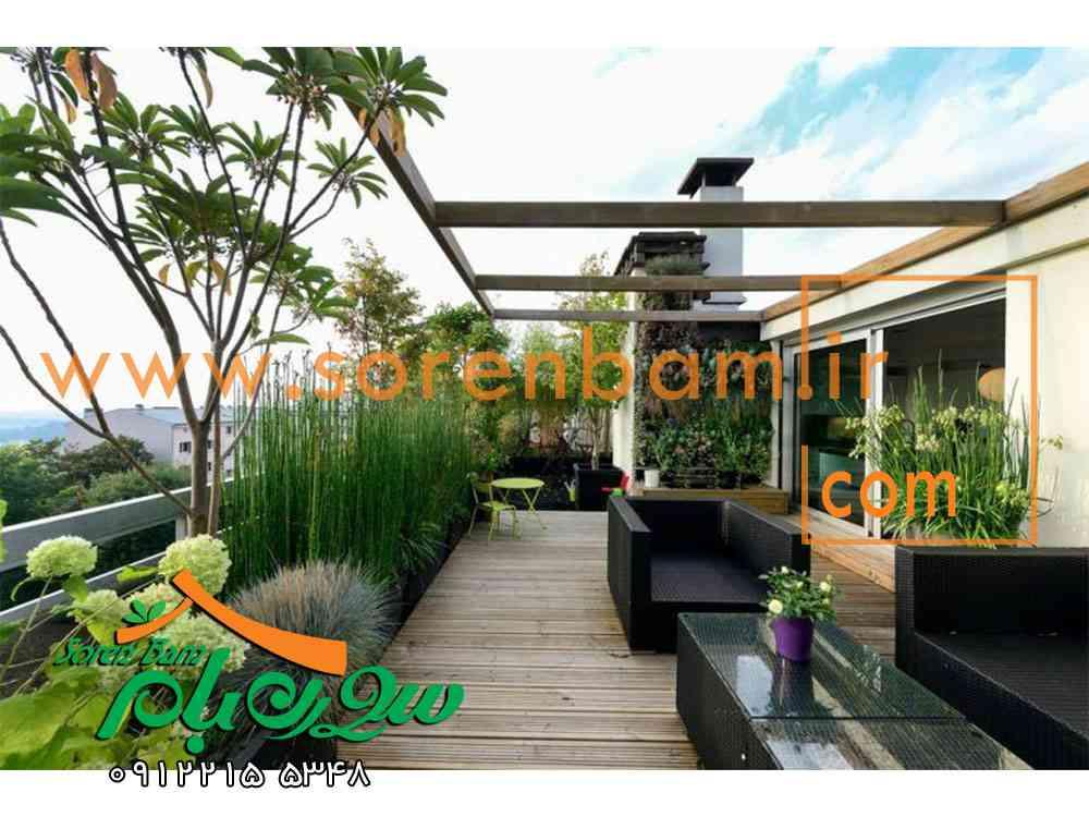 فواید و معایب بام سبز ، ساخت بام سبز