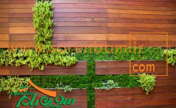 اجرای دیوار سبز مصنوعی