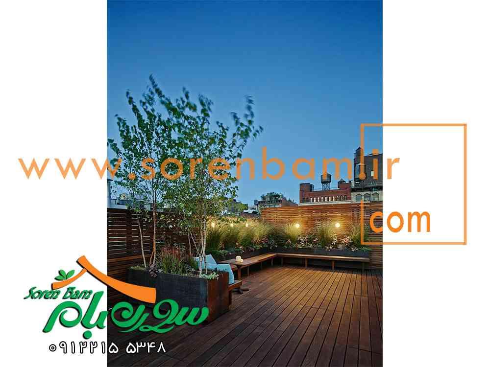چگونه در پشت بام باغچه بسازیم