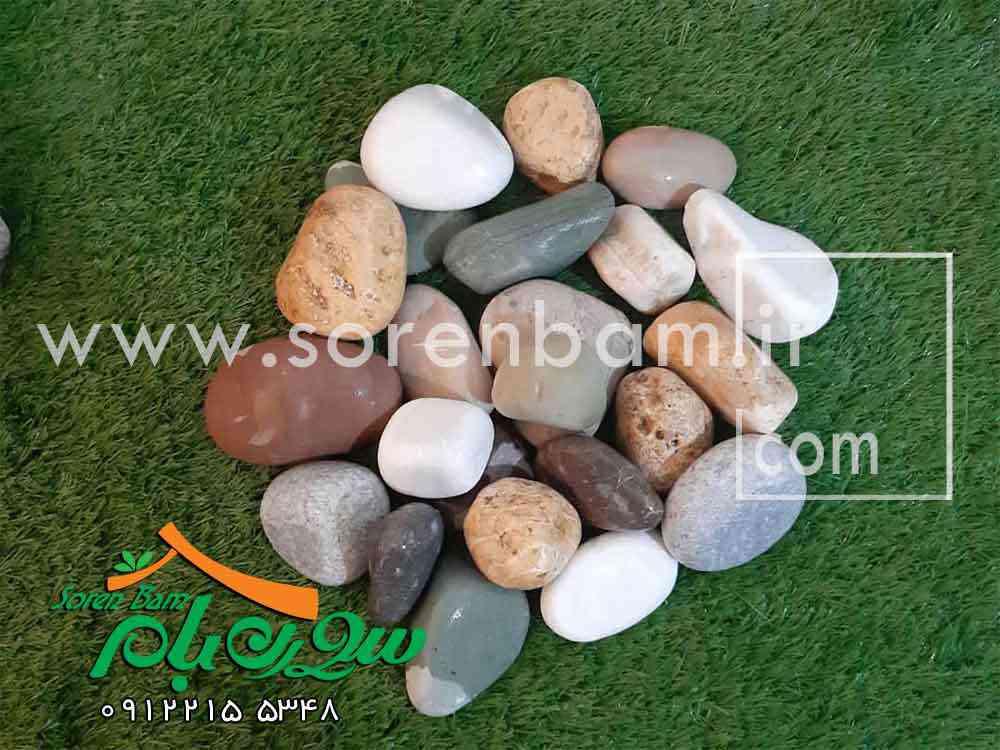 قلوه سنگ های تزیینی شرکت سورن بام