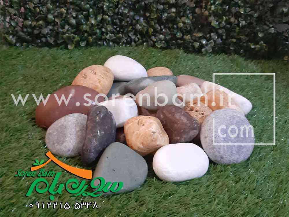 سنگ قلوه رودخانه ای برای نما