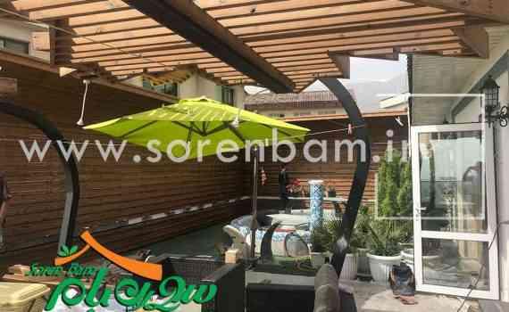 چتر فضای سبز