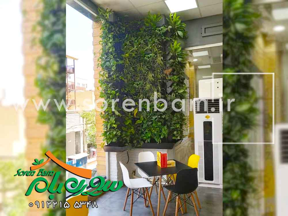 طراحی و اجرای دیوار سبز عطاویچ
