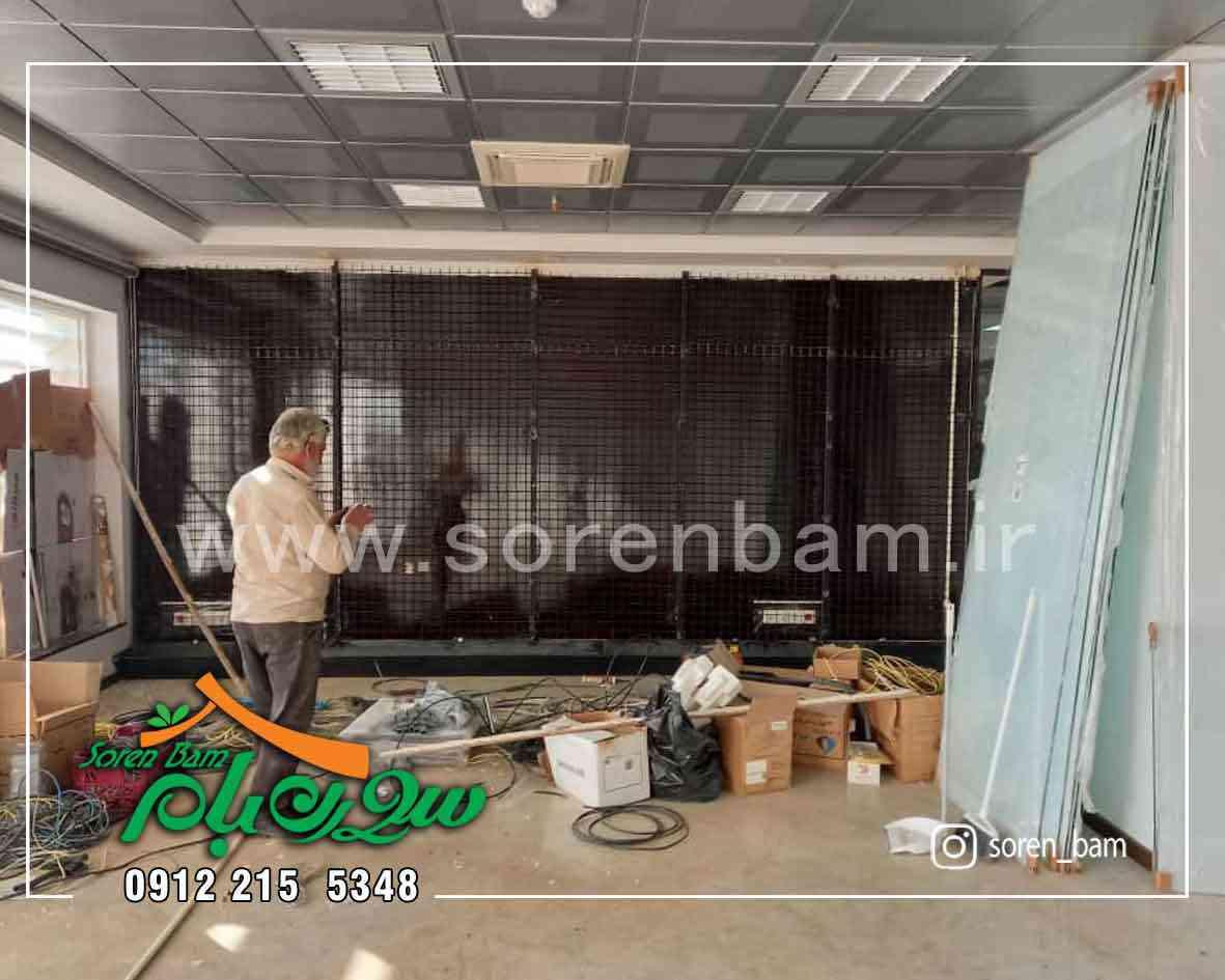 زیر سازی دیوار سبز صنایع غذایی کوروش