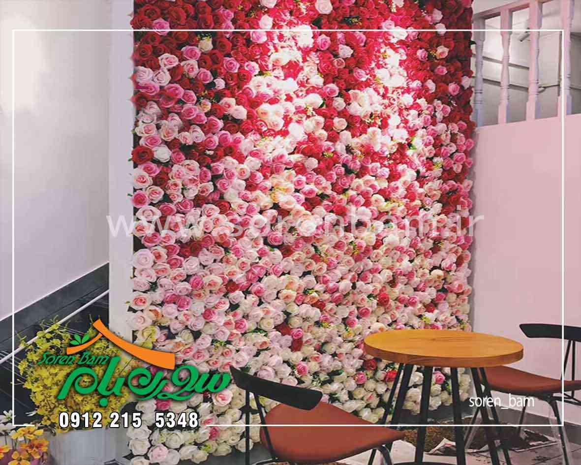 اجرای گل آرایی در سالن زیبایی