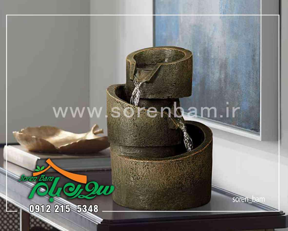 آبنمای سنگی کوچک رومیزی