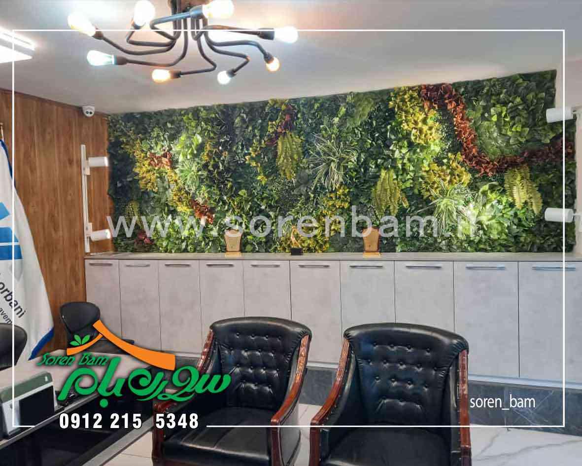 گیاهان دیوار سبز