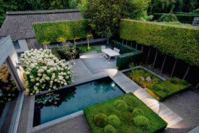 جدیدترین محوطه سازی باغ